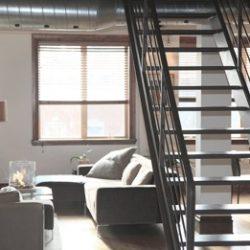 Industriële look met een gietvloer in huis