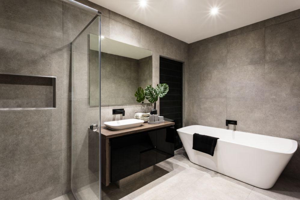 huidige badkamer